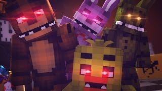 Minecraft FNAF - FREDDY, CHICA, BONNIE! (Minecraft Five Nights at Freddy's Roleplay) Ep 1