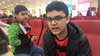 TEACHING AASHAN TO Vlog