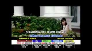 BUNGA EDELWEIS - THOMAS ARYA - [Karaoke Video]