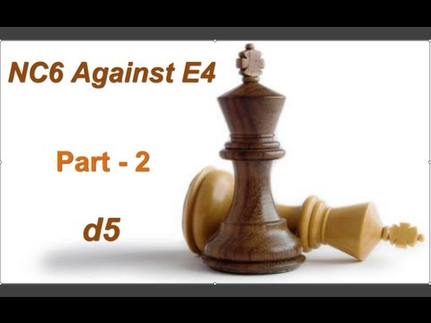 E4 - FACEBOOK :- http://www.facebook.com/gj.chess Chess Opening for Black, Chess Opening for Black against e4, Opening against e4, Nc6 System, Nimzowitsch Defense...