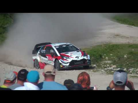 WRC Rally de Portugal 2018 - Viana do Castelo 1 - the stone in the way of Tanak