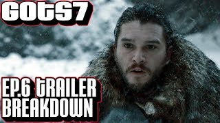 Game of Thrones season 7 episode 6 trailer breakdown. It looks like Jon Snow and crew will be fighting the Night King Norrh of ...