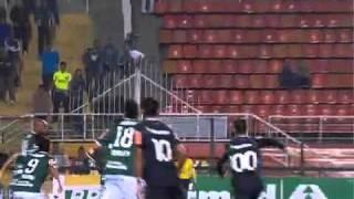 Campeonato Brasileiro 2011 - 35ª rodada - Palmeiras 1x1 Vasco - Gol do Vasco (Dedé)