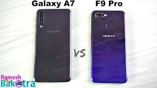 Video Samsung Galaxy A7 2018 vs Oppo F9 Pro SpeedTest and Camera Comparison MP3, 3GP, MP4, WEBM, AVI, FLV Desember 2018