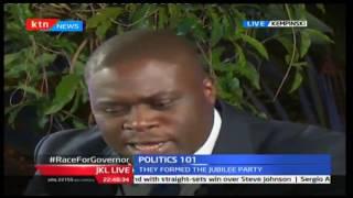 JKL: Politics 101; Race For Nairobi And Mombasa Gubernatorial Seat, 12/10/16 Part 2