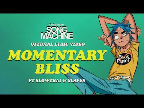 Gorillaz - Momentary Bliss ft. slowthai & Slaves (Official Lyric Video)