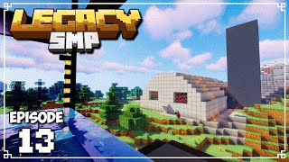 Legacy SMP - MILITARY BARRACKS! (Minecraft 1.15 Survival)