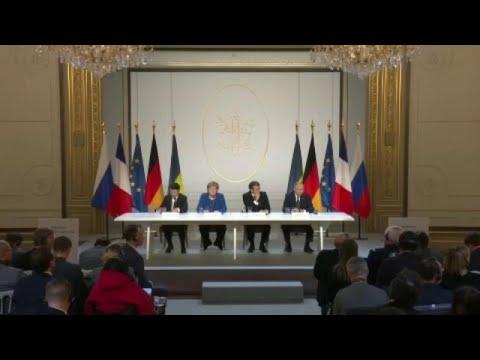 Παρίσι: «Πρόοδος» στην τετραμερή σύνοδο για την Ουκρανία…