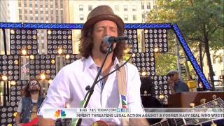 Jason Mraz - Interview & I Won't Give Up (Today Show)
