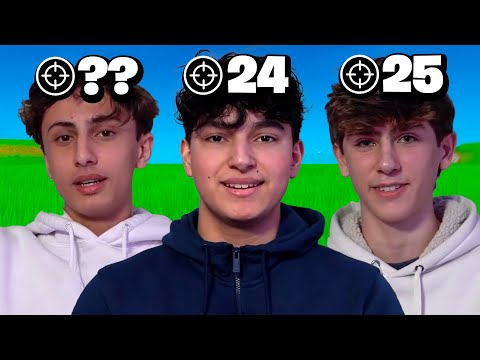 I Paid $10,000 For The 3 Best Fortnite Pros To 1V1
