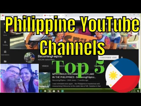 Top 5 Philippine YouTube Channels | How I Ranked Them | Foreigners in the Philippines on YouTube