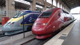 Video Paris Gare du Nord mit TGV, Thalys und Eurostar MP3, 3GP, MP4, WEBM, AVI, FLV November 2017