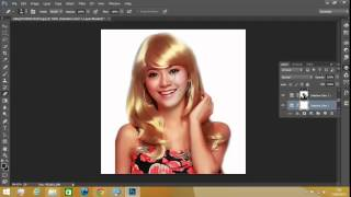 tutorial Merubah Warna Rambut Dengan Photoshop