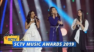 Aaliyah Massaid, Aurel Hermansyah, Stephanie Poetri - Pertama | SCTV Music Awards 2019