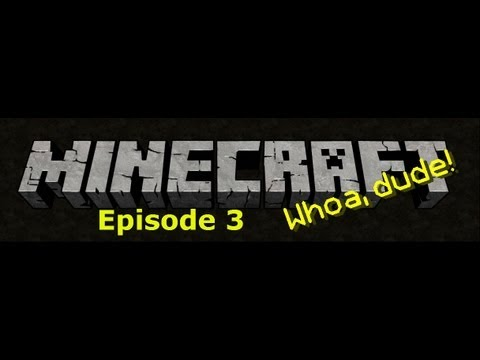 Minecraft Survival - Episode 3: The fatta the land!