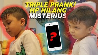 Video DIPRANK SAMPE 3 KALI! Baby Qahtan MARAH Hampir Injek HP Abangnya #PART2 MP3, 3GP, MP4, WEBM, AVI, FLV Juni 2019