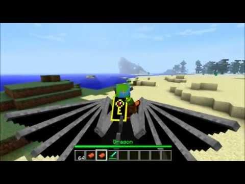 [Au Garh TV] นำเสนอ+สอนลง Mod Dragon Mounts 1.2.5