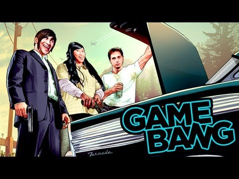 gta game - WATCH NEXT WEEK'S GAME BANG!: http://smo.sh/halo-joust This week we practice our drinking and driving skills by running from the cops in GTA 5 while on drunk...