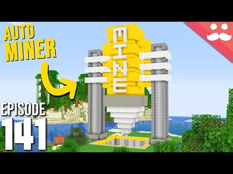 Hermitcraft 6: Episode 141 - Auto Mining Machine