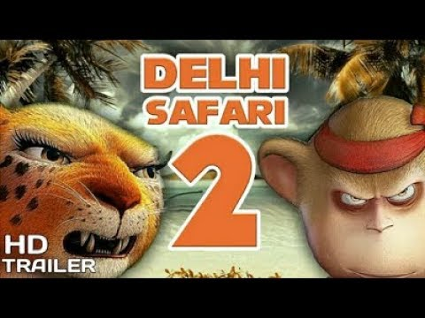 DELHI SAFARI 2 Unofficial Trailer||DELHI SAFARI||Clara As The DELHI SAFARI||Clara||To Much FUN. HD