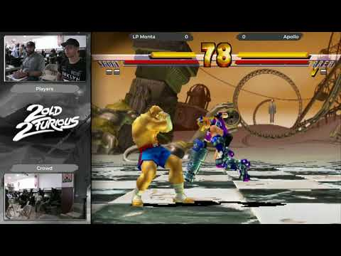 Skillions x 2 Old 2 Furious AGAIN Street Fighter EX2 Plus Top 5 (LP Monta) vs (Apollo)