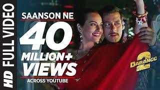 Saanson Ne Baandhi Hai Dor Piya Full Video Song Dabangg 2  Salman Khan Sonakshi Sinha