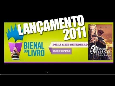 """LANÇAMENTO DE """"Os Dragões de Ttânia - A Batalha de argos"""" NA BIENAL 2011"""