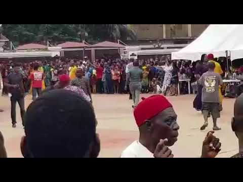 Ijele Masquerade The King Of Igbo Masquerades Performs In Anambra