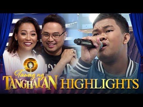 TNT Hurados are shocked with Christian Faunillan's  impersonation | Tawag ng Tanghalan