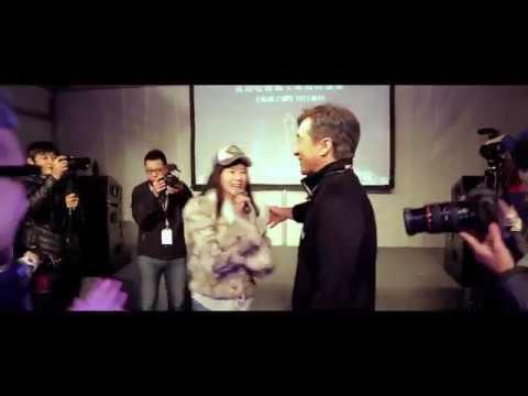 BLEEDING STEEL team make a surprise to Jackie Chan