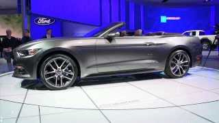 2015 Ford Mustang - Detroit Auto Show - WheelsTV