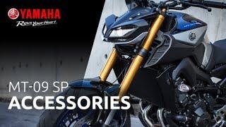 8. 2018 Yamaha MT-09 SP - Technical video 3 | Accessoires