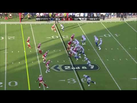Dak Prescott 30 Yard Touchdown Pass To Michael Gallup 49ers vs Cowboys