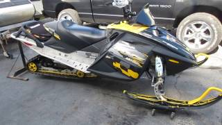 8. 2006 06 SKIDOO SKI DOO MXZ800 MXZ 800 PTEK RENEGADE FOR SALE, PARTS ONLY NOT WHOLE MACHINE