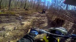 10. Suzuki DR200 Gets PUNNISHED! Raw Trail Moto cove