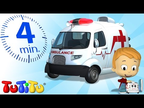 TuTiTu Specials | Ambulance Toy and a Song for Children