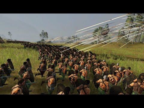 1000 ARROW OF APOLO VS 3000 CELTIC WARRIORS - MASSIVE BATTLE TOTAL WAR ROME 2