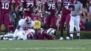 Alshon Jeffery vs Alabama 2010