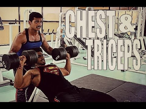 INTENSE CHEST AND TRICEPS WORKOUT | Teen Bodybuilding India