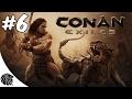 Conan Exiles Jogo Visitamos A Cidade Dos Mortos Gamepla