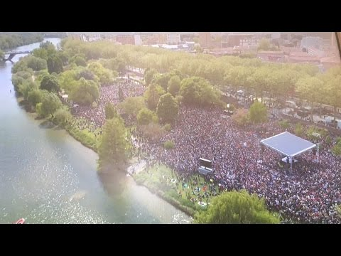 MÉLENCHON : Meeting pour la Liberté à Toulouse - #JLMToulouse (видео)