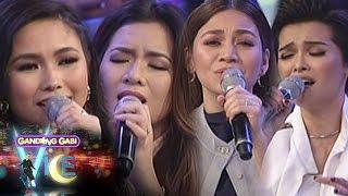 Video GGV: KZ, Kyla, Yeng & Angeline sing their favorite songs MP3, 3GP, MP4, WEBM, AVI, FLV Agustus 2018