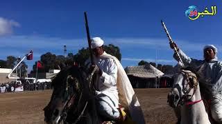 فن التبوريدة بالعيون الشرقية تراث مغربي أصيل