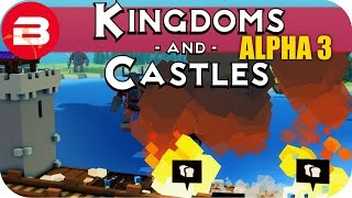 Kingdoms and Castles Gameplay: 200 PEEPS STRONG! #23 - Lets Play Kingdoms & Castle Alpha