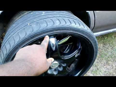 Guys check these low profile tires aleast twice a month they can cause a wreck