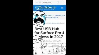 Produced with CyberLink PowerDirector 15https://surfacetip.com/best-usb-hub-for-surface-pro-4-reviews/I have searched far and wide for a usb hub for my sp4. I thought my search would end at staples, but I was mistaken. Listen here, so you don't make the same mistakes. Thanks for listening