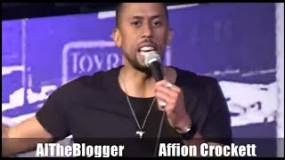 Affion Crockett From 'WildNOut' Stand Up Comedy Show