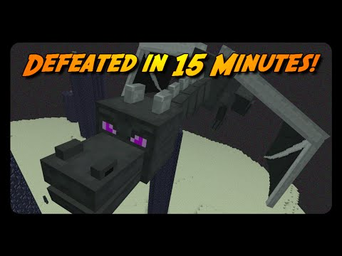 MINECRAFT SPEEDRUN in 15 MINUTES!