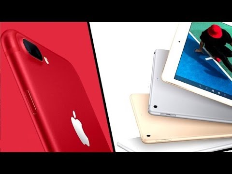 Latest Apple News!  New iPhone Special Edition Product Red | iPad 9.7 Inch and More!