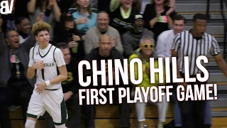 Chino Hills VS JSerra for the first round of playoffs got off to a slow start but once they got their flow it was OVER.... CRAZY highlights, Eli Scott & Onyeka ...